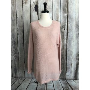 Sparkle & Fade Urban Outfitters Loose Knit Sweater